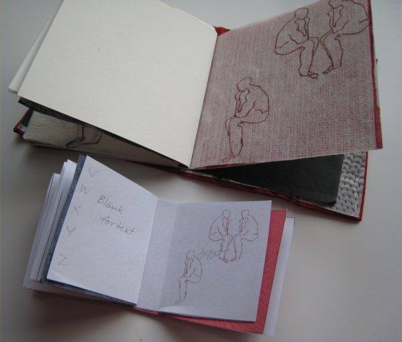 book maquette